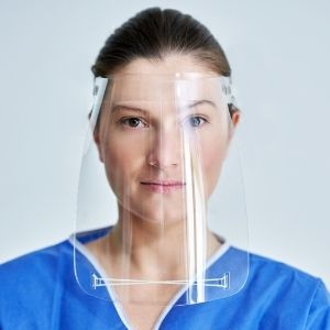 Clear Plastic Face Shields
